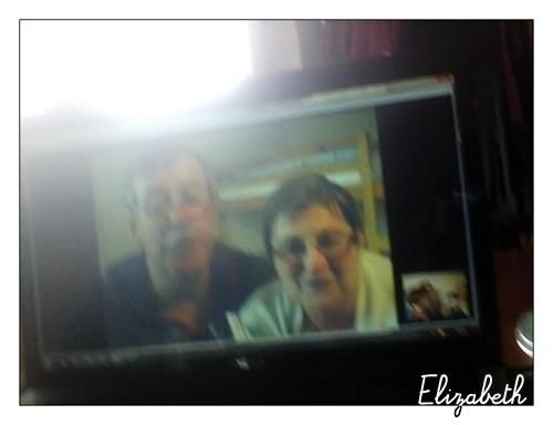 [Photos] By Elizabeth - papi et mami dans l'écran !